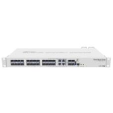 CRS328-4C-20S-4S+RM: 20 x SFP cages, 4 x SFP+ cages, 4 x Combo ports, 1U case, Dual Power Suppli