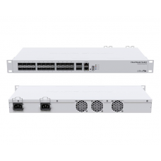 CRS326-24S+2Q+RM: Blindingly fast switch for the most demanding applications!