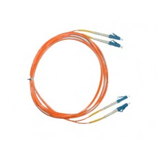 MM-LCLC-1m: Fiber Optic Patch lead with LC connectors, 1m length