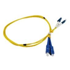SM-LCSC-1m: Fiber Optic Patch lead with LC connectors, 1m length