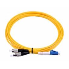 SM-LCST-1m: Fiber Optic Patch lead with LC/ST connectors, 1m length
