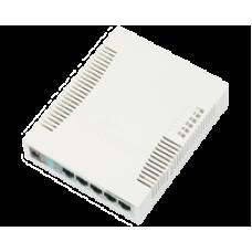 CSS106-5G-1S: 260GS - 5 port Gigabit Switch + 1 SFP cage