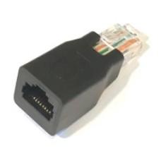 XRJ-45A: Reverse PoE A <--> B mode converter